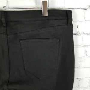 WILLOW & THREAD | black skinny leg jeans